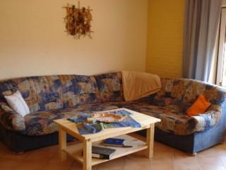 Wohnzimmer mit gemütliche Sitzgruppe